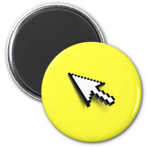 Cursor 3D Fridge Magnets