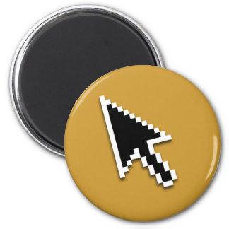 Cursor Flat (inverted) 6 Cm Round Magnet