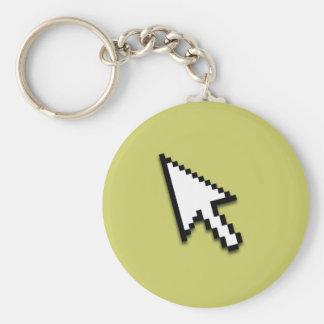 Cursor Flat Key Chain