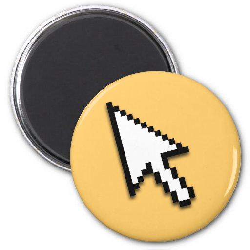 Cursor Flat Fridge Magnet