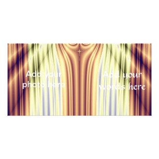 Curtain Call Spotlights Fractal Custom Photo Card