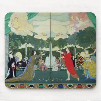 Curtain Design for the 'Free Theatre' in Mouse Mat