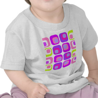 Curtain Retro purple T Shirt