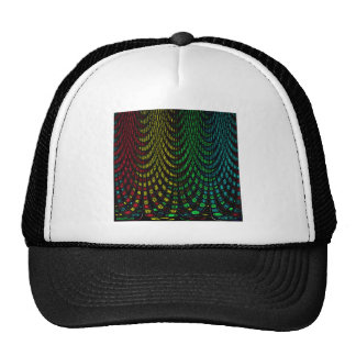 Curtains in abstract cap
