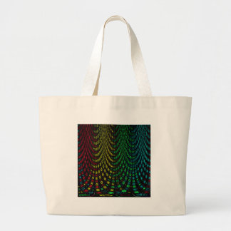 Curtains in abstract large tote bag