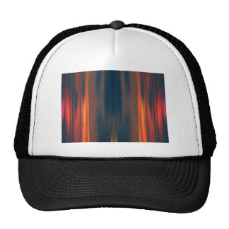 Curtains of Light: Abstract Artwork: Cap
