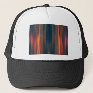 Curtains of Light: Abstract Artwork: Trucker Hat
