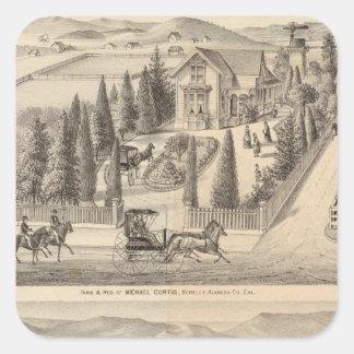 Curtis farm, Poirier Tract Square Sticker