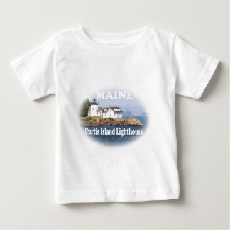 Curtis Island Lighthouse Baby T-Shirt
