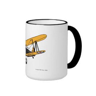 Curtiss Hawk P-6E (1929) Ringer Mug