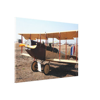 Curtiss Jenny Biplane Replica Aircraft Canvas Print