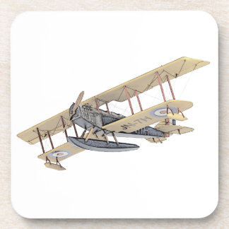 Curtiss JN-4 Jenny Float Plane Beverage Coaster