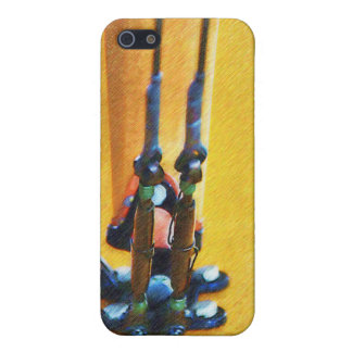 Curtiss JN-4 Jenny Wing Strut - Colour iPhone 5 Covers