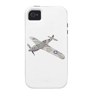 Curtiss P-40 Warhawk Aircraft iPhone 4/4S Case