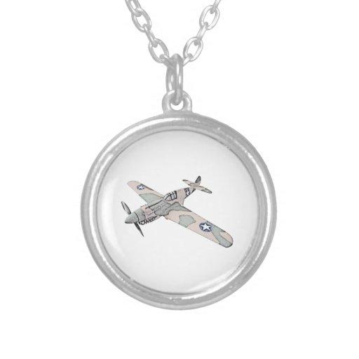 Curtiss P-40 Warhawk Aircraft Necklace