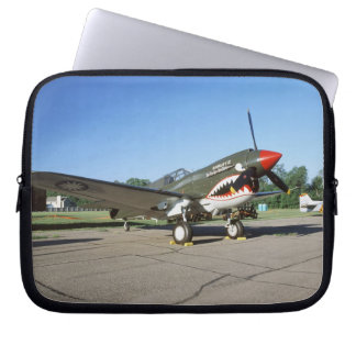 Curtiss P-40 Warhawk, at Minnesota CAF Air Show Laptop Sleeves