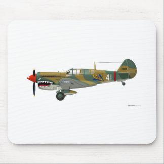 Curtiss P-40 Warhawk Mouse Mat