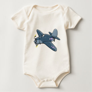 curtiss sb2c helldiver baby bodysuit