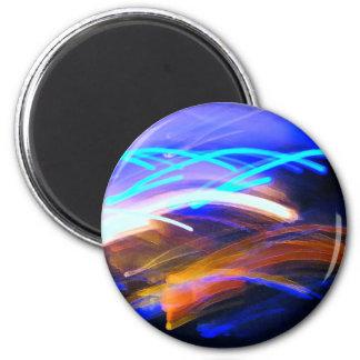 Curvaceous Color 6 Cm Round Magnet