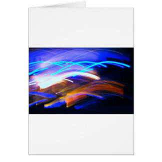 Curvaceous Color Greeting Card