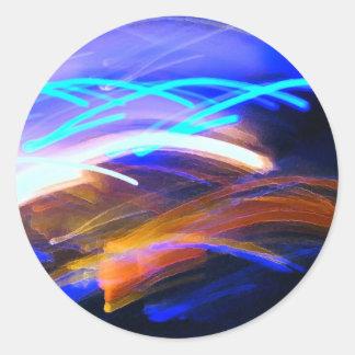 Curvaceous Color Sticker