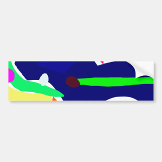Curvaceous Eye Box Tool Lunch Bumper Stickers
