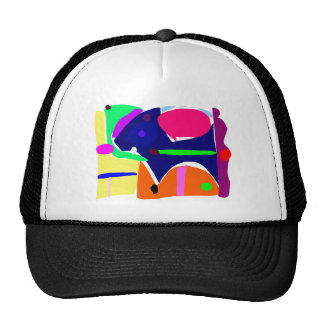 Curvaceous Eye Box Tool Lunch Mesh Hats