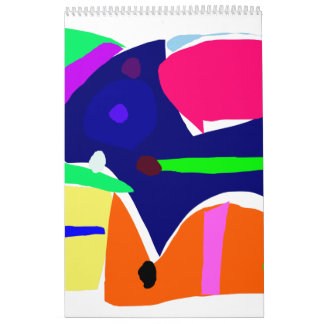 Curvaceous Eye Box Tool Lunch Wall Calendars