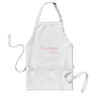 Curvalicious Diva in Pink Standard Apron