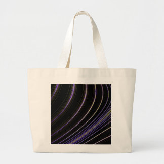 Curve Art Large Tote Bag
