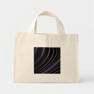 Curve Art Mini Tote Bag