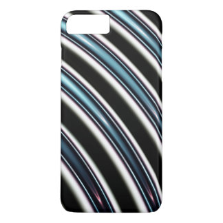 Curved Lines Close Up Of A Fractal iPhone 8 Plus/7 Plus Case