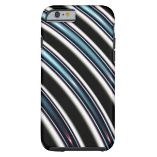 Curved Lines Close Up Of A Fractal Tough iPhone 6 Case