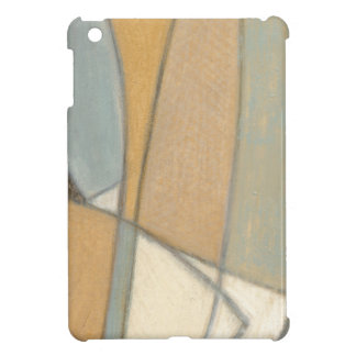 Curved Lines & Muted Earth Tones iPad Mini Cover