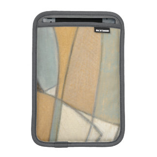 Curved Lines & Muted Earth Tones iPad Mini Sleeve