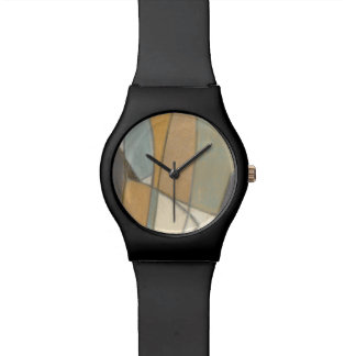 Curved Lines & Muted Earth Tones Watch
