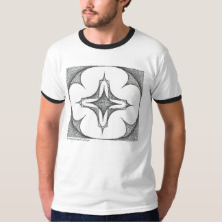 Curved Lines T Shirt