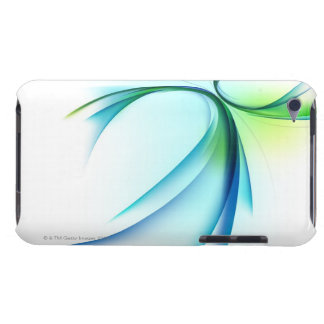 Curved shape on white background barely there iPod cases