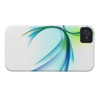 Curved shape on white background Case-Mate iPhone 4 case