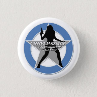 "CURVED SPACE ""Stellhouette"" 1.25 Inch Button"