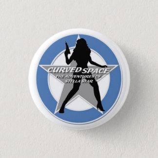 "CURVED SPACE ""Stellhouette"" Button"