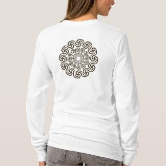 curved swastika reverse T-Shirt