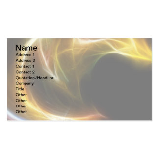 Curves 1 pack of standard business cards