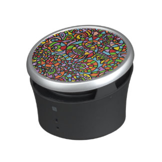 Curves and Spheres Bluetooth Speaker