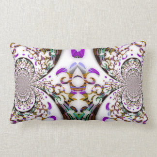 Curves and Swirls Toss Cushion
