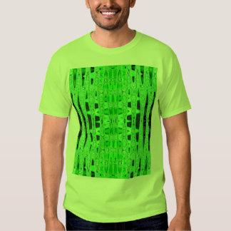 curves green tshirt