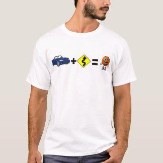 Curves = Smile (blue) T-Shirt