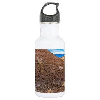 Curving Riverbed at Zabriskie Point. 532 Ml Water Bottle