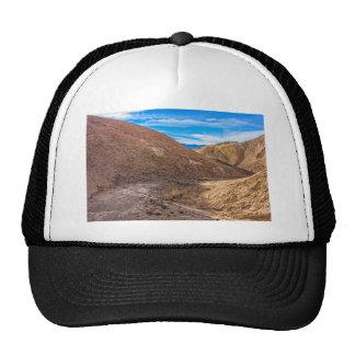 Curving Riverbed at Zabriskie Point. Trucker Hats