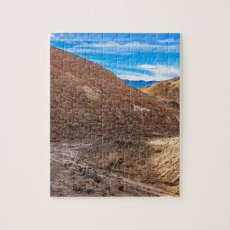 Curving Riverbed at Zabriskie Point. Jigsaw Puzzle